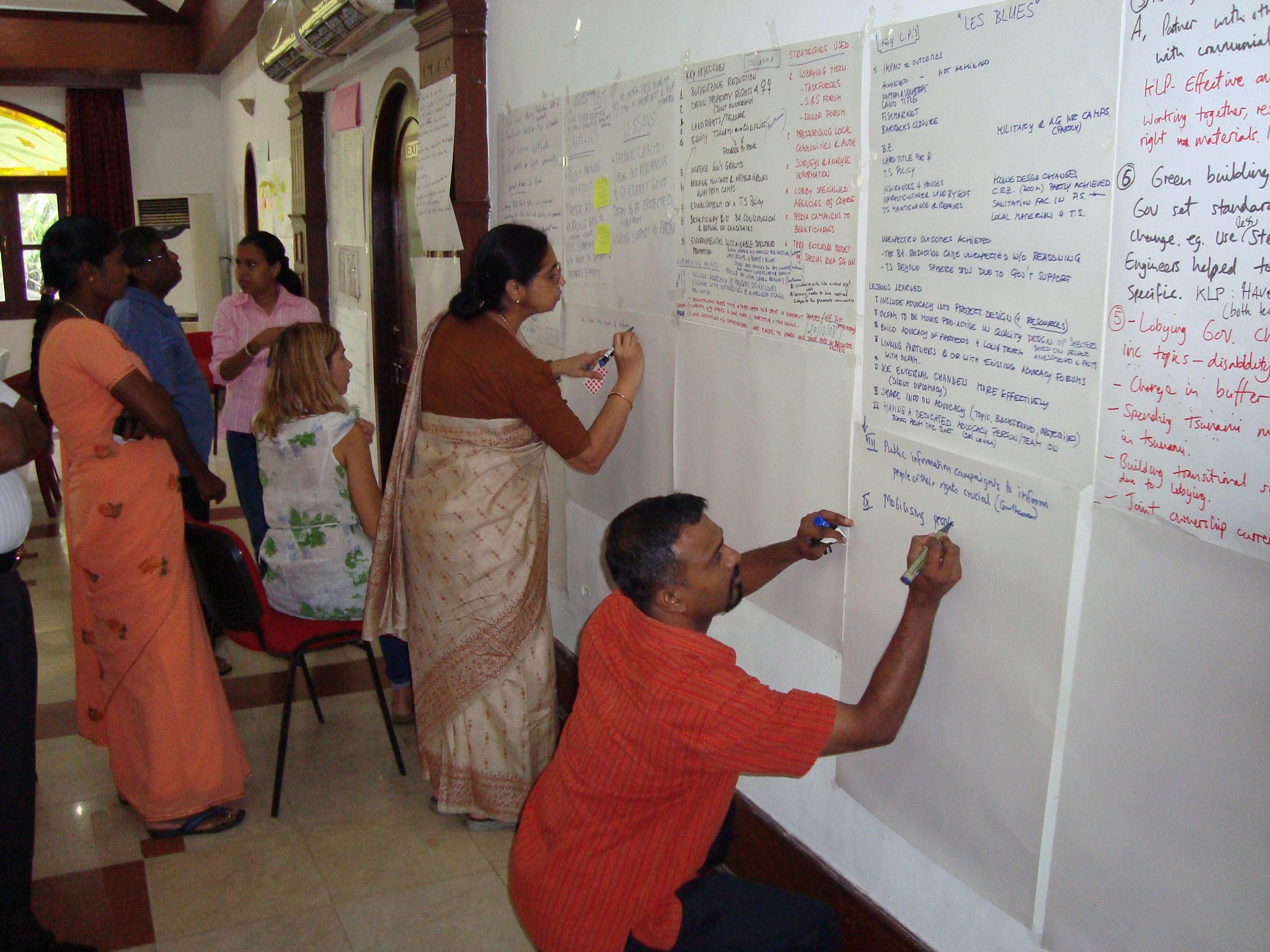 OI, Tsuanami Advocacy, Sri Lanka, 2008
